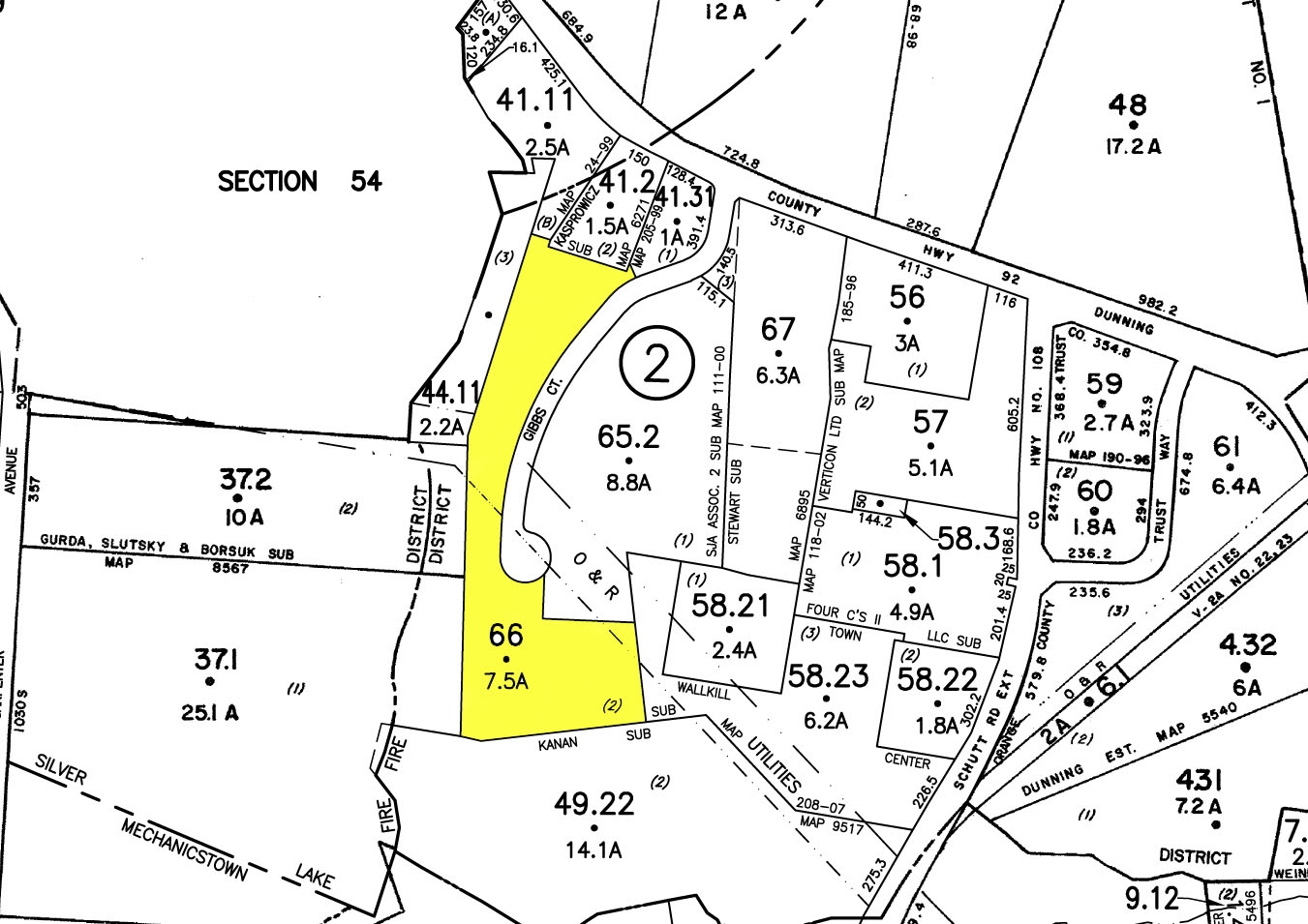 Land For Sale Gibbs Ct Amp Dunning Rd Middletown Ny 10940